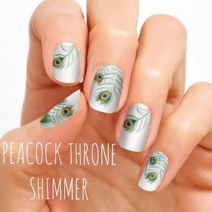 Accessories - Color Street Nail Strips - Peacock Throne